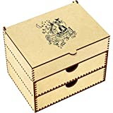 Azeeda 'Owl Pussy Cat' Vanity Case / Makeup Box (VC00003633)