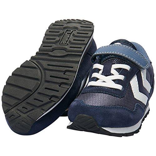 Hummel Unisex-Kinder Reflex Jr Sneaker Blau (Peacoat/Vintage Indigo)