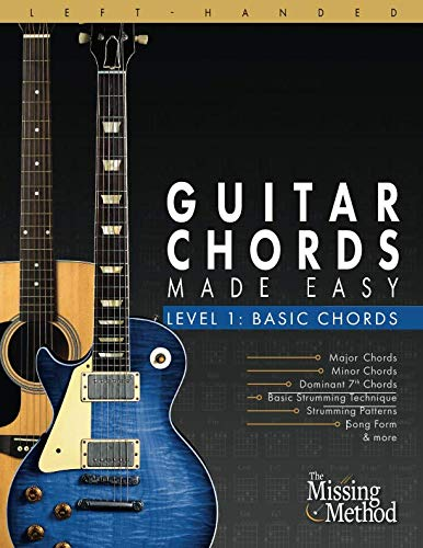 Left-Handed Guitar Chords Made Easy, Level 1: Basic Guitar Chords