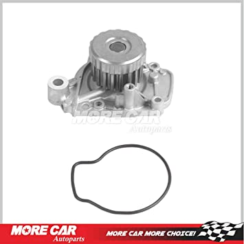 Fit 01-05 Honda Civic Engine Water Pump  EX LX VTEC 1.7L SOHC D17A2 D17A6