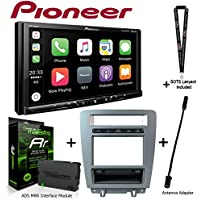 Pioneer MVH-1400NEX 6.2 Digital Media Receiver iDatalink KIT-MUS1 factory integration adapter for select Ford Mustang, ADS-MRR Interface Module and BAA21 Antenna Adapter and a SOTS Lanyard