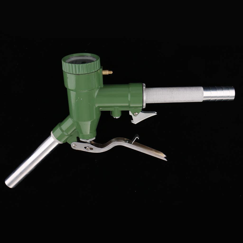 Homyl LLY-25 Manual Máquina de Engrasador de Gasolina Queroseno + Medidor de Flujo Digital: Amazon.es: Bricolaje y herramientas