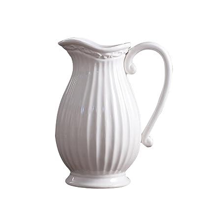 Amazon Jomop Decorative Pitcher Embellished Pitcher Ceramic Interesting Decorative Ceramic Pitchers
