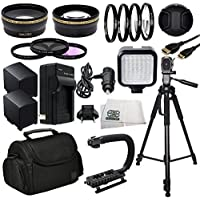 Professional Accessory Package For Canon XA10, XA20, XA25 & XA30 HD Professional HD Camcorders