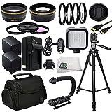 Professional Accessory Package For Canon XA10, XA20, XA25 & XA30 HD Professional HD Camcorders