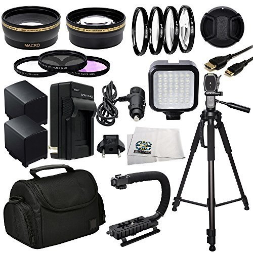Professional Accessory Package For Canon XA10, XA20, XA25 & XA30 HD Professional HD Camcorders by SSE
