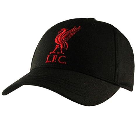 d630d2c0a37 Liverpool F.C. Cap BLK  Amazon.in  Sports