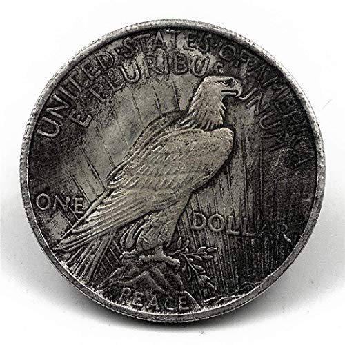 LimiFas 1 PC of Best Archaize American 1922 Statue of Liberty and Peace Coin Silver Dollar (for Collection - Peace Dollar Coin 1922