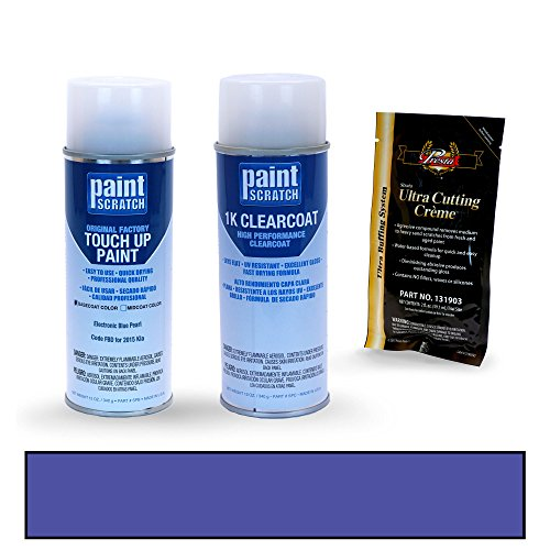 Pearl Electronic - PAINTSCRATCH Electronic Blue Pearl FBD for 2015 Kia Rio - Touch Up Paint Spray Can Kit - Original Factory OEM Automotive Paint - Color Match Guaranteed