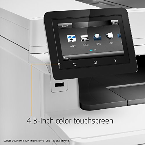 HP LaserJet Pro M477fdn Multifunction Color Laser Printer with Built-in Ethernet & Duplex Printing (CF378A) by HP (Image #7)