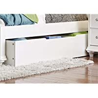 Liberty Furniture Stardust Trundle in Iridescent White