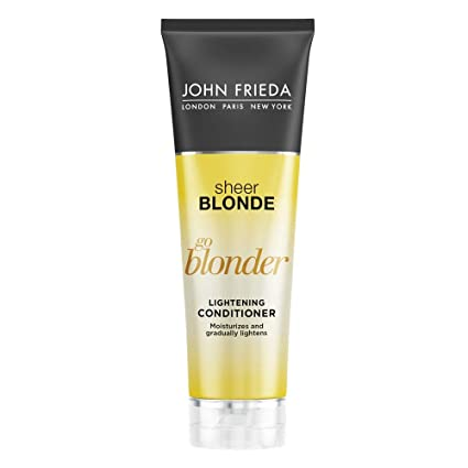 7736c51b36f09 John Frieda Sheer Blonde Go Blonder Conditioner, 8.3 Ounce Gradual  Lightening Conditioner, with citrus and chamomile, featuring our BlondMend  ...