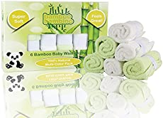 100 natural bamboo fibers 6pack safe u0026 eco friendly free laundry bag great for home bath u0026 travel bags ideal baby gift