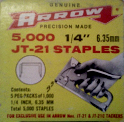 Arrow Jt-21 Staples 1/4 Inch - Arrow Jt 21 Staples