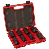 "TruePower 8pc 3/4"" Metric Heavy Duty Deep Wall Impact Socket Set by TruePower Tools"