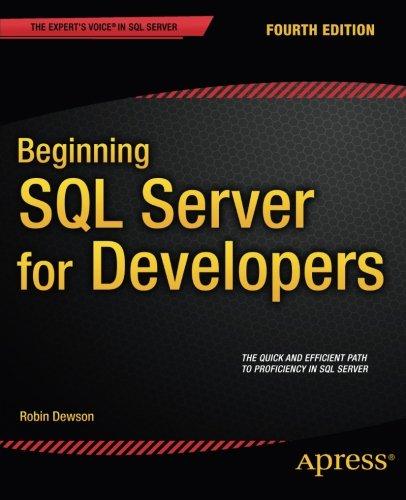 Beginning SQL Server for Developers Front Cover