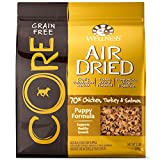 Wellness CORE Air Dried Grain Free Natural Dry Puppy Food, Chicken, Turkey & Salmon, 2-Pound Bag For Sale
