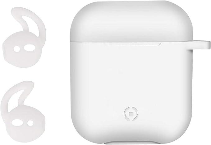 Celly Aircase Funda - Accesorio para Auriculares (Funda, Apple ...