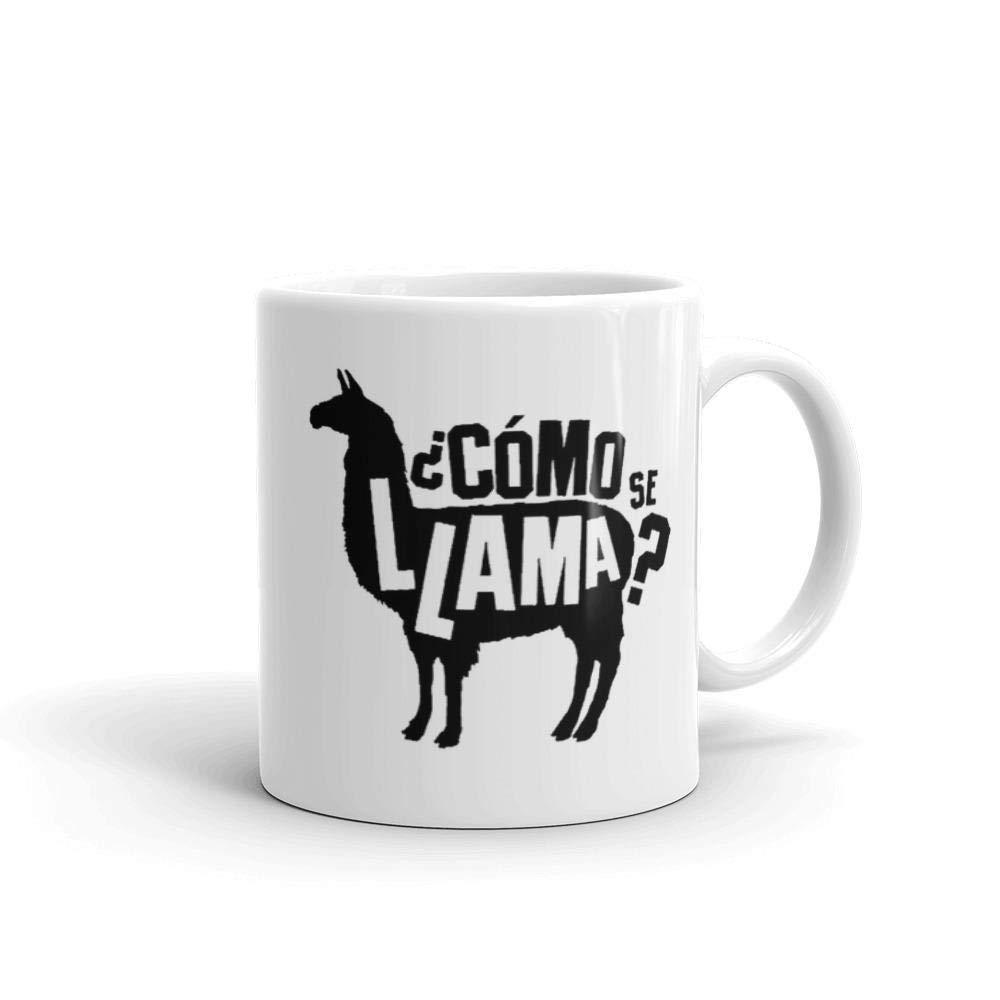 Como Se Llama Llama マグ 面白いマグカップ 11オンス ホワイトセラミックコーヒーティーマグ ラマギフト 誕生日ギフト オフィスマグ かわいいマグ ラマ愛好家ギフト 同僚ギフト B07K861HVX