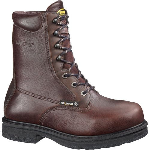 Men's Wolverine Wolverine Fusion Electrical Hazard Steel-Toe Internal Met Guard 8