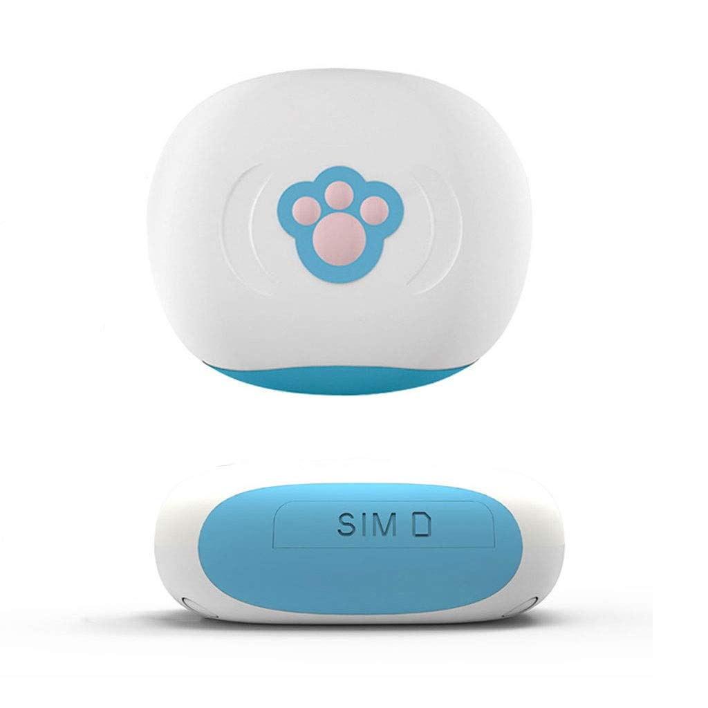 Pet Intelligent Locator, Mini GPS Smart Anti-Lost Collar Waterproof, Cat, Dog, Pet Activity Monitor