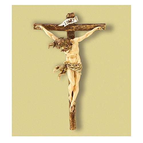 """Crucifix Jesus Statue Large 20"""" Wall Cross Big Christian Religious Wedding Gift Top Selling Item"""