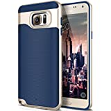 Galaxy Note 5 Case, Caseology [Wavelength Series] Textured Pattern Grip Cover [Navy Blue] [Shock Proof] for Samsung Galaxy Note 5 - Navy Blue