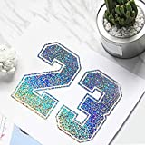 TECKWRAP Holographic Sparkle Adhesive Craft Precut