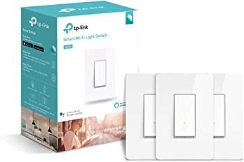 3-Pack TP-Link Kasa HS200 Smart WiFi Light Switch