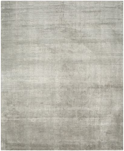 Safavieh Mirage Collection MIR235C Hand-Knotted Grey Wool Area Rug 10' x 14'