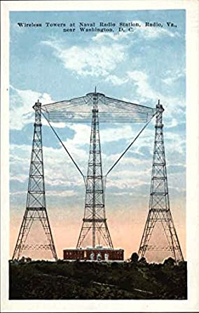 Amazon com: Wireless towers at Naval Radio Station Fort Myer