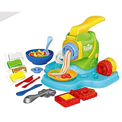 MeeYum Kids Clay Play Dough Set, Cutter Noodle Tools Shapes Molding for Boys and Girls: Toys & Games
