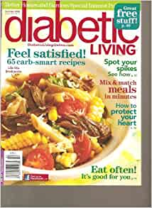 Diabetic Living Magazine By Better Homes And Gardens Feel