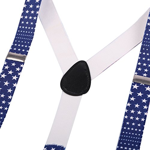 Child Baby Boys Adjustable Elastic Clip Y Back Suspenders Bowtie Outfit First Birthday Cake Smash Bloomers Clothes set by IWEMEK (Image #5)