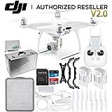 DJI Phantom 4 Pro V2.0/Version 2.0 Quadcopter Essential Aluminum Case Bundle