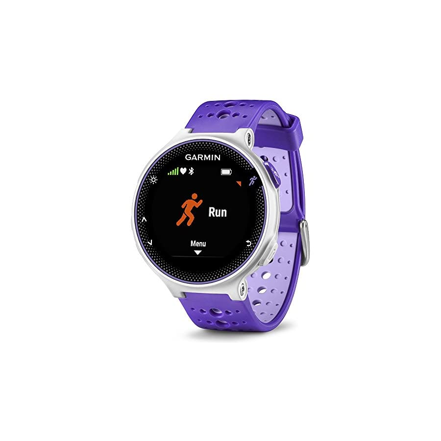 Beach Camera Garmin Forerunner 230 GPS Running Watch Purple Strike (010 03717 41) Heart Rate Monitor