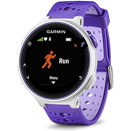 Garmin Forerunner 230 GPS Running Watch Purple Strike (010 03717 41) with Heart Rate Monitor