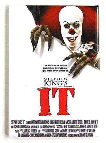 It (1990) Movie Poster Fridge Magnet (2 x 3 -