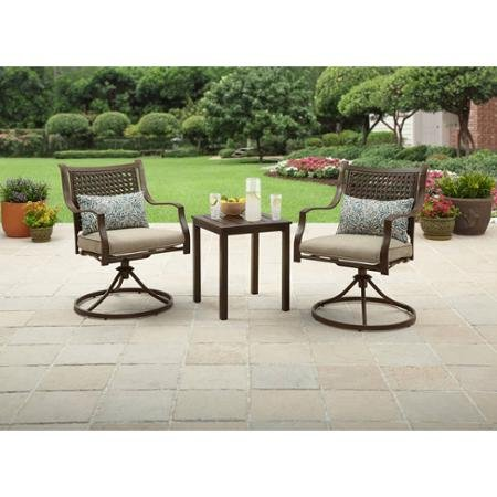 Amazon.com: Better Homes and Gardens Lynnhaven Park 3-Piece Outdoor ...