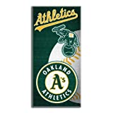 MLB Oakland Athletics Emblem Beach Towel, 28 x 58-Inch