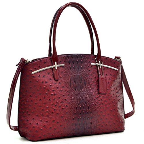 Leather Chic Handbag - 5
