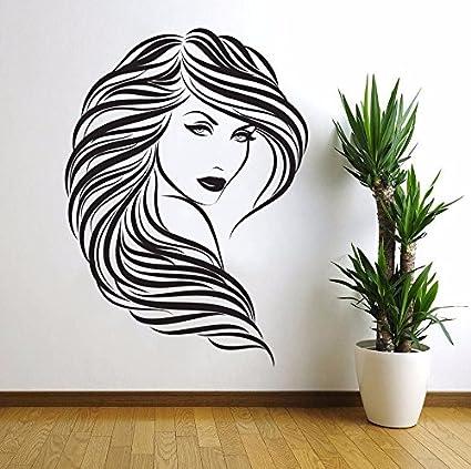 Mural ZOZOSO Beauty Beauty Salon Art Creative Wall Sticker ...