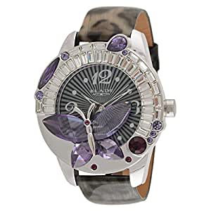 Blade Women's Analog Leather Watch - 15-3260L-SV