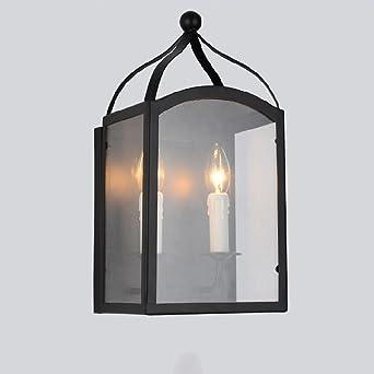 Retro Kreative Industrielle Stil Glaswand Licht Gehweg Balkon Glas