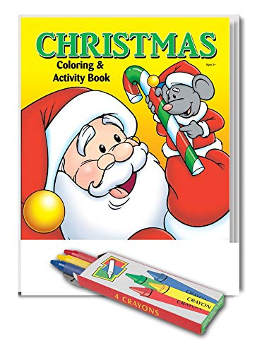Amazon.com: 25 Pack - Christmas Coloring and Activity Books ...