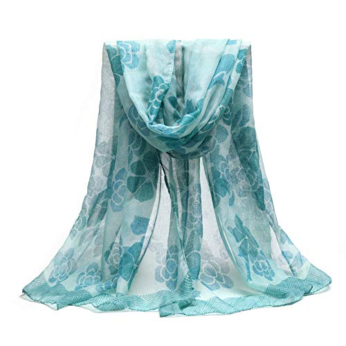 Scarfs for Women Print Long Scarf Neck Scarf Sheer Lightweight The Twins Dream