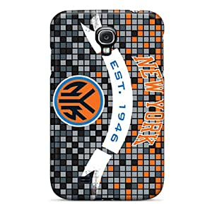 Slim Fit Tpu Protector Shock Absorbent Bumper New York Knicks Case For Galaxy S4