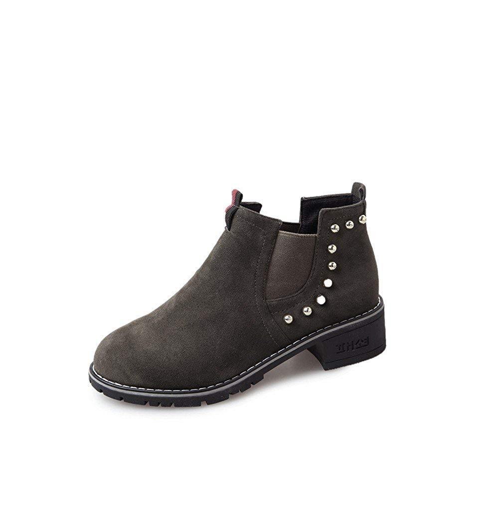 SED Stivaletti da donna 'Retro Boots Bare Boots Casual Women' S Shoes,35 Eu,verde 35 Eu