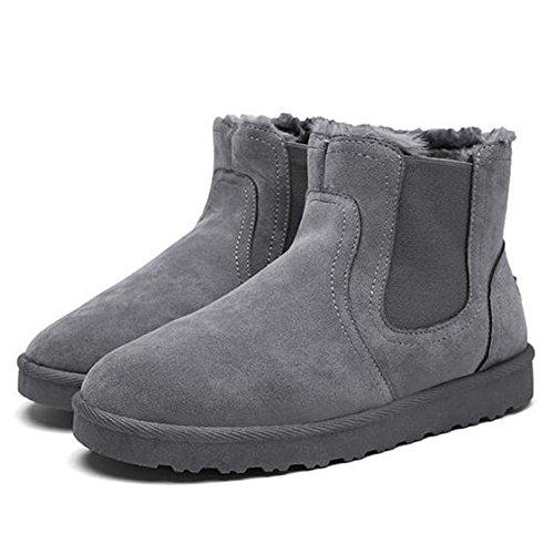 FEIFEI Scarpe da uomo Materiale di alta qualità Snow Boots Winter Trendy Leisure Tenere al caldo 3 colori ( Colore : Nero )