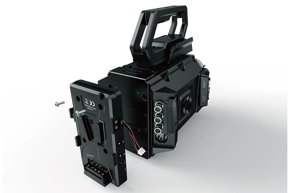 LanParte V-mount Battery Back Plate for URSA Mini with Multiple Power Outputs
